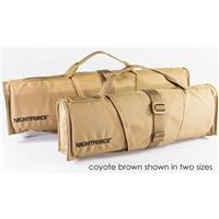 """Nightforce Optics 15"""" Padded Riflescope/Rifle Cover with Carry Handle, Fits NXS Compact Scopes and 3-10x42mm SHV Riflescope, Coyote Brown"""