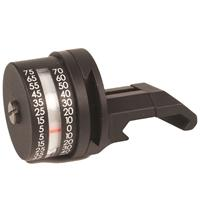 Compare Prices Of  Nightforce Optics Angle Degree Indicator R/H, Calibrated in Degrees, Mounts on Single Piece Picatinny Mount.