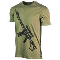 Image of Nightforce Optics AR Themed T-Shirt, Large, Green