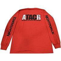 Image of Nightforce Optics ATACR Men's Long Sleeve Shirt, Large, Red