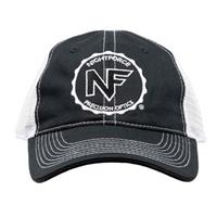 Image of Nightforce Optics Mesh Back, Embroidered Logo Ball Cap, Black
