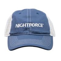 Image of Nightforce Optics Mesh Back, Embroidered Logo Ball Cap, Blue