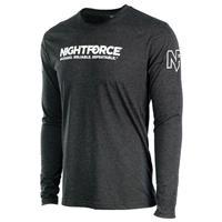 Image of Nightforce Optics NF Women's Long Sleeve Shirt, Large, Black
