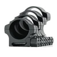 "Image of Nightforce Optics 1.25"" High Standard Duty Aluminum Ring Set for 30mm Tubes"