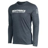Image of Nightforce Optics SHV Men's Long Sleeve Shirt, 2X-Large, Gray