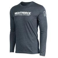 Image of Nightforce Optics SHV Men's Long Sleeve Shirt, Large, Gray