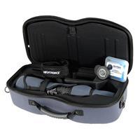 Image of Nightforce Optics 20-70x82mm TS-82 Xtreme Hi-Def Angled Waterproof Spotting Scope Kit, Black