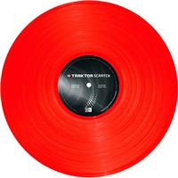 Image of Native Instruments Traktor Scratch Pro Control Vinyl Mark 2, Red