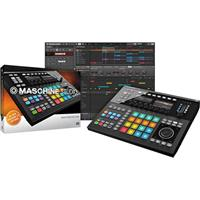Image of Native Instruments Native Instruments MASCHINE STUDIO, Two 480x272p Displays, 8 Group/58 Click Buttons, 16 Illuminated Pads, USB 2.0/3.0, Kensington Lock, 8x Endless Rotary Encoder, Black