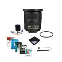 Image of Nikon 10-24mm f/3.5-4.5G ED-IF AF-S DX NIKKOR DSLR Lens Bundle w/77mm UV Wide Angle Filter & Pro Software