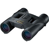 Image of Nikon 10x25 Aculon A30 Weather Resistant Roof Prism Binocular with 5.0 Degree Angle of View, Black