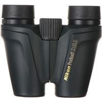 Image of Nikon 10x25 ProStaff ATB Compact Water Proof Porro Prism Binocular with 5.0 Degree Angle of View, Black