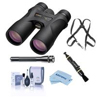 Compare Prices Of  Nikon 10x42 Prostaff 7S Roof Prism Binocular, Black, Bundle with Accessory Kit