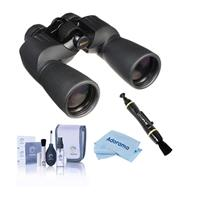 Compare Prices Of  Nikon 10x50 Action Extreme Porro Prism Binocular, Black, Bundle with Accessory Kit