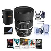 Image of Nikon 105mm f/2 AF-D DC NIKKOR Telephoto Lens Bundle with 72mm Filters & Pro Software