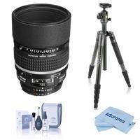 Image of Nikon 105mm f/2 AF-D DC NIKKOR Telephoto Lens, Bundle with Vanguard VEO 2 Aluminum Tripod