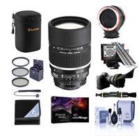 Image of Nikon 135mm f/2 AF-D DC NIKKOR Lens - Bundle With 72mm Filter Kit, LENSALIGN MkII Focus Calibration System, Peak Lens Changing Kit Adapter, Lens Case, Flex Lens Shade, Pro Software Package, And More
