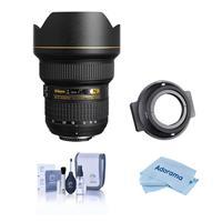 Image of Nikon 14-24mm f/2.8G ED-IF AF-S NIKKOR Lens F/DSLR Cameras - U.S.A. Warranty - With NiSi 150mm Filter Holder for Nikon AF-S 14-24mm f/2.8G Lens, Cleaning Kit, Microfiber Cloth
