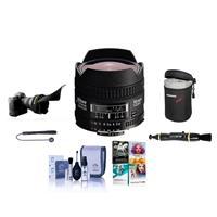 Image of Nikon 16mm f/2.8D ED AF NIKKOR Lens - USA Warranty - Bundle With Soft Lens Case, Lens Cleaning Kit, Flex Lens Shade, Cleaning Kit, Lens Cleaner - Cap Leash, PC Software Package