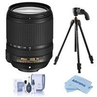 Compare Prices Of  Nikon 18-140mm f/3.5-5.6G ED AF-S DX NIKKOR (VR) Vibration Reduction Lens f/DSLR Cameras - U.S.A. Warranty - With Vanguard Vesta 203AGH 3-Section Aluminum Tripod with GH-45 Pistol Grip Head,