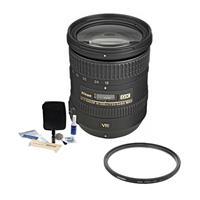 Image of Nikon 18-200mm f/3.5-5.6G ED IF AF-S DX NIKKOR VR II Lens - U.S.A. Warranty - Accessory Bundle with 72mm Filter Kit, Digital Camera & Lens Cleaning Kit