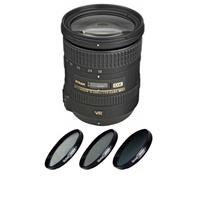 Image of Nikon 18-200mm f/3.5-5.6G ED IF AF-S DX NIKKOR VR II Lens - U.S.A. Warranty - Bundle with 72mm Wide UV Filter, New Leaf 1 Year Drops & Spills Warranty