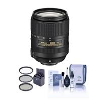 Image of Nikon 18-300mm f/3.5-6.3G ED IF AF-S DX NIKKOR VR Lens - U.S.A. Warranty - Bundle With 67mm Filter Kit, Cleaning Kit