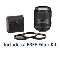 Image of Nikon 18-300mm f/3.5-6.3G ED IF AF-S DX NIKKOR VR Lens - U.S.A. Warranty - Bundle With 67mm Digital Essentials Filter Kit (UV/CPL/ND2), New Leaf 1 Year Drops & Spills Warranty
