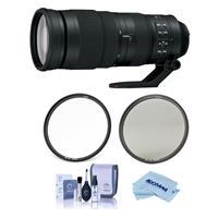 Compare Prices Of  Nikon 200-500mm f/5.6E ED AF-S VR Zoom NIKKOR Lens USA Warranty - Bundle With Haida 95mm NanoPro MC Circular Polarizer Filter, Haida 95mm NanoPro MC Clear Filter, Cleaning Kit, Microfiber Cloth