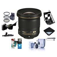 Image of Nikon 20mm f/1.8G AF-S ED NIKKOR Lens U.S.A. Warranty - Bundle with 77mm Filter Kit, , Lens Wrap (15x15), Software Package, Datacolor SpyderLensCal AF Calibration Aid, Flex Lens Shade And More