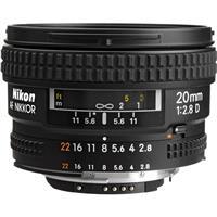 Image of Nikon 20mm f/2.8D AF NIKKOR Lens - U.S.A. Warranty