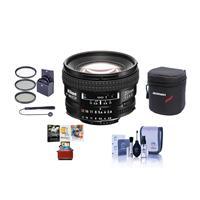Image of Nikon 20mm f/2.8D ED AF NIKKOR Lens, USA Warranty - Bundle With 62mm Filter Kit (UV/CPL/ND2), Soft Lens Case, Lens Cleaning Kit, Lens Cap Leash, Mac Software Package