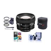 Compare Prices Of  Nikon 20mm f/2.8D ED AF NIKKOR Lens, USA Warranty - Bundle With 62mm Filter Kit (UV/CPL/ND2), Soft Lens Case, Lens Cleaning Kit, Lens Cap Leash, PC Software Package