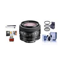 Image of Nikon 24mm f/2.8D ED AF NIKKOR Lens - USA Warranty - Bundle With 52mm Filter Kit (UV/CPL/ND2), Lens Cap Leash, Lens Cleaning Kit, MAC Software Package