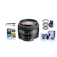 Image of Nikon 24mm f/2.8D ED AF NIKKOR Lens - USA Warranty - Bundle With 52mm Filter Kit (UV/CPL/ND2), Lens Cap Leash, Lens Cleaning Kit, PC Software Package