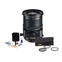 Image of Nikon 24mm f/3.5D ED Perspective Control-E NIKKOR Aspherical Lens - U.S.A. Warranty - Accessory Bundle with Tiffen 77mm Wide Angle Filter Kit, Professional Lens Cleaning Kit,