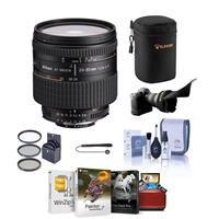 Image of Nikon 24-85mm f/2.8-4 IF AF-D NIKKOR Lens - Bundle With 72mm Filter Kit (UV/CPL/ND2) - Flex Lens Shade - Lens Cap Leash - Lens Cleaning Kit - Soft Lens Case - Mac Software Package