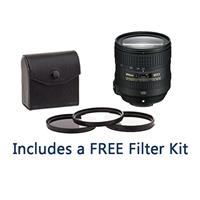 Image of Nikon 24-85mm f/3.5-4.5G ED AF-S VR NIKKOR Lens - U.S.A. Warranty - Bundle with 72mm Filter Kit (UV/CP/ND2), New Leaf 1 Year Drops & Spills Warranty