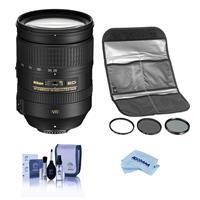 Image of Nikon 28-300mm f/3.5-5.6G ED-IF AF-S NIKKOR VR Vibration Reduction Lens - U.S.A. Warranty - With HOYA 77MM Digital Filter Kit II, Cleaning Kit, Microfiber Cloth