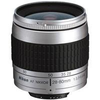 Image of Nikon Nikon 28-80mm f/3.3-5.6G Wide Angle-Telephoto Auto Focus Zoom Nikkor Lens - Silver Finish.