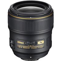 Image of Nikon 35mm f/1.4G AF-S NIKKOR Lens - U.S.A. Warranty