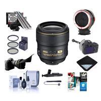 Compare Prices Of  Nikon 35mm f/1.4G AF-S NIKKOR Lens Kit - Bundle With 67mm Filter Kit,LensAlign MkII Focus Calibration System, DSLR Follow Focus & Rack Focus , Peak Lens Changing Kit Adapter, Lens Wrap, And More