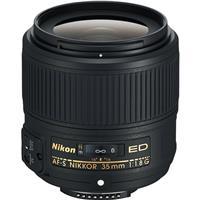 Image of Nikon 35mm f/1.8G AF-S ED NIKKOR Lens for DSLR Cameras - U.S.A. Warranty