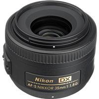 Image of Nikon 35mm f/1.8G AF-S DX NIKKOR Lens for DSLR Cameras - U.S.A. Warranty