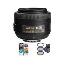 Compare Prices Of  Nikon 35mm f/1.8G AF-S DX NIKKOR Lens Bundle With 52mm Filters,US Warranty & Pro Software