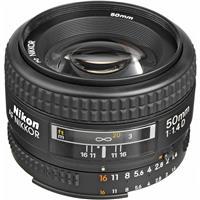 Image of Nikon 50mm f/1.4D AF NIKKOR Lens - U.S.A. Warranty
