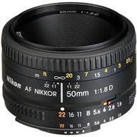Image of Nikon 50mm f/1.8D AF NIKKOR Lens - U.S.A. Warranty