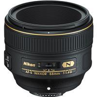 Compare Prices Of  Nikon Nikon 58mm f/1.4G AF-S Nikkor Lens.