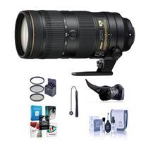Compare Prices Of  Nikon AF-S NIKKOR 70-200mm f/2.8E FL ED VR Lens - U.S.A. Warranty - Bundle with 77mm Filter Kit, Flex Lens Shade, Cleaning Kit, Cap Leash, Software Package