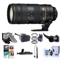 Image of Nikon AF-S NIKKOR 70-200mm f/2.8E FL ED VR Lens USA Warranty - Bundle with 77mm Filter Kit, Focus Calibration System, Flex Lens Shade, Cleaning Kit, FocusShifter DSLR Follow Focus, Software Package